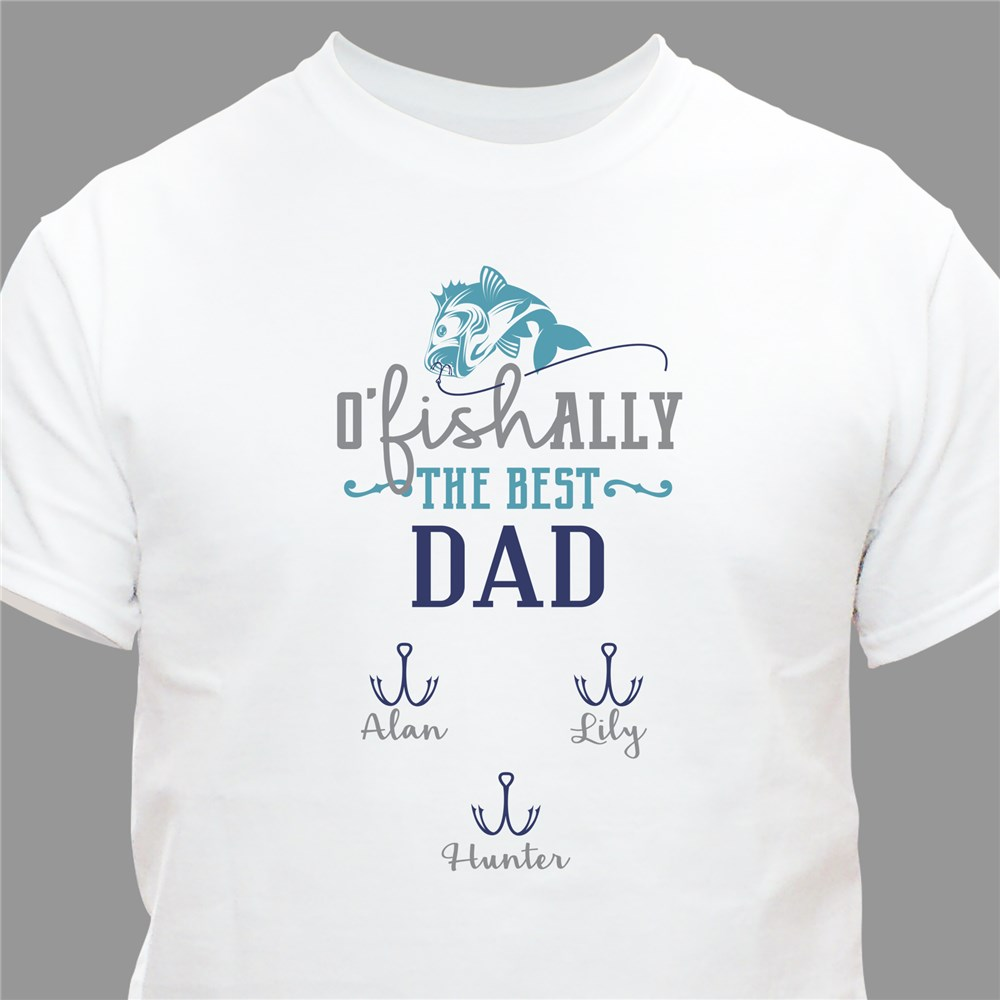 Personalized Shirts for Guys | Father's Day Gifts For Fisherman