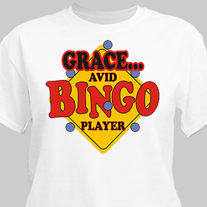 Personalized Bingo T-shirt