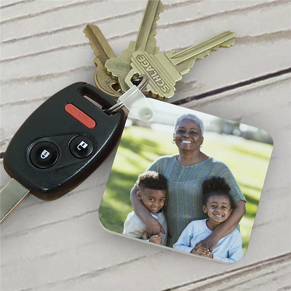 Picture Perfect Personalized Key Chain | Personalized Gifts for Mom