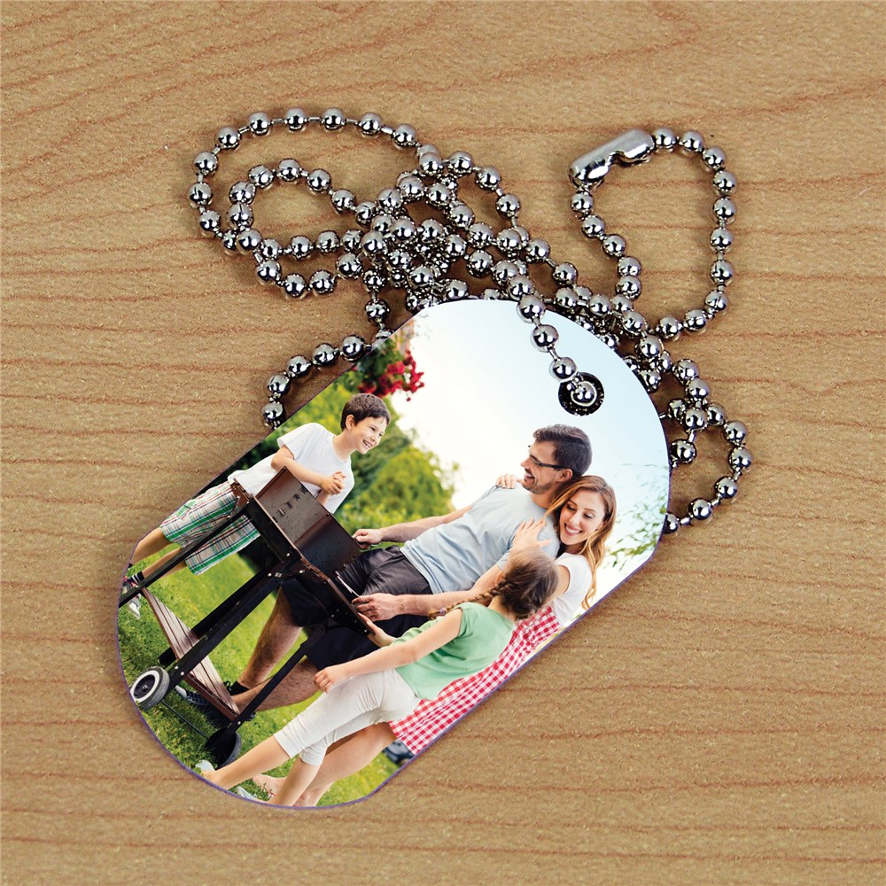 Picture Perfect Photo Dog Tag | Personalized Photo Gifts