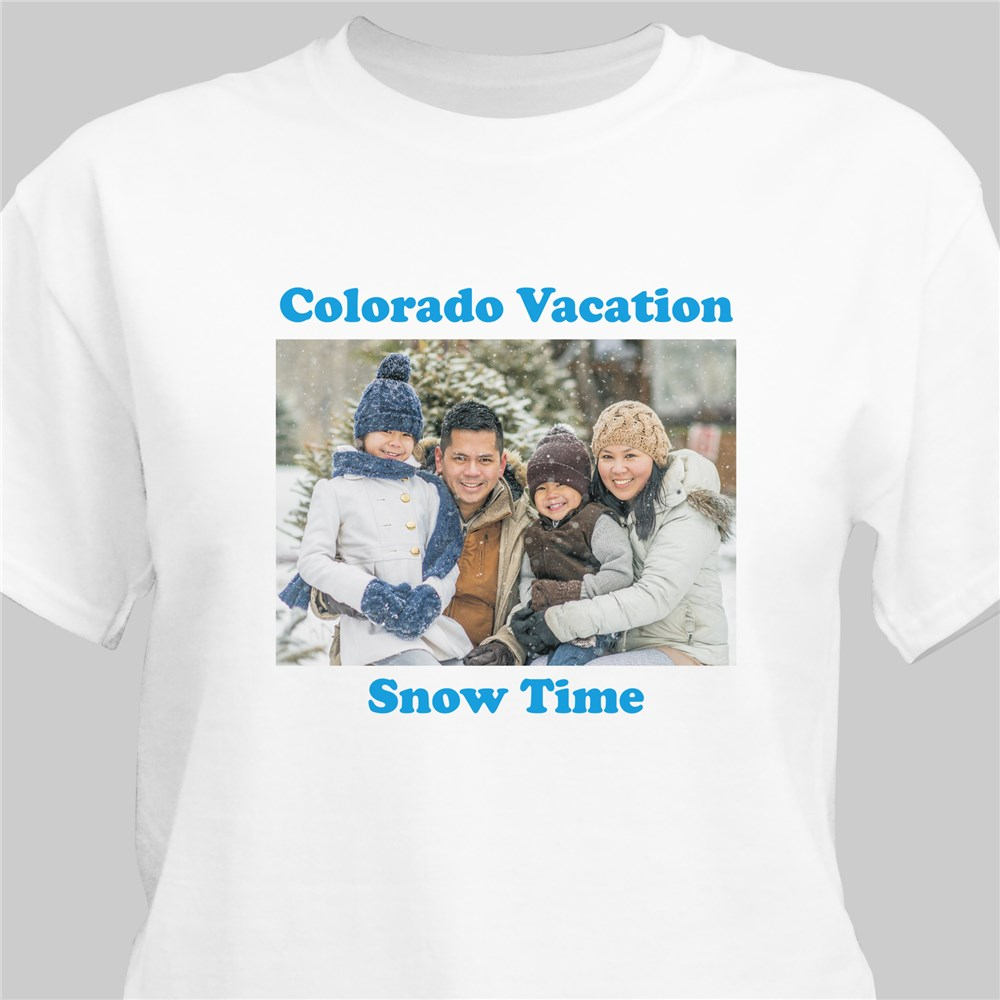 Picture Perfect Personalized Photo T-Shirt | Daddy T-Shirts