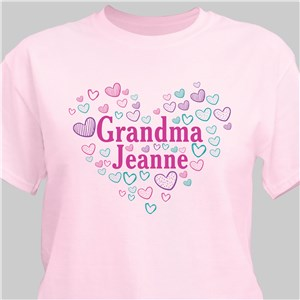 Personalized T-Shirts | Heart Shaped Personalized Shirts