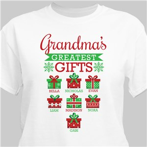 Personalized Christmas Shirt | Greatest Gifts Shirt for Holidays