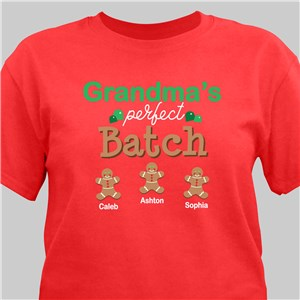Personalized Shirt for Grandma | Christmas Baking Shirts