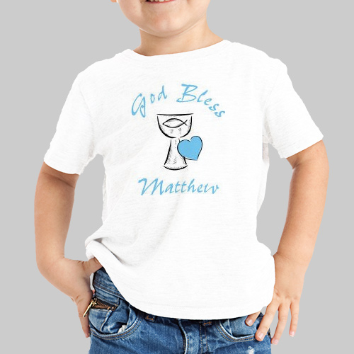 God Bless... First Communion Youth T-Shirt