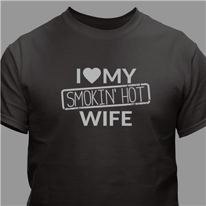 Romantic Shirt For Valentine's Day | I Love My Wife Apparel