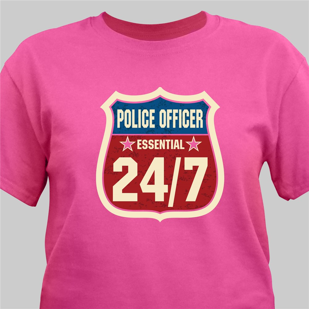Personalized 24/7 Essential Worker T-Shirt