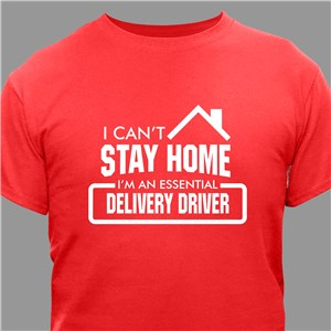 Personalized Stay Home T-Shirt