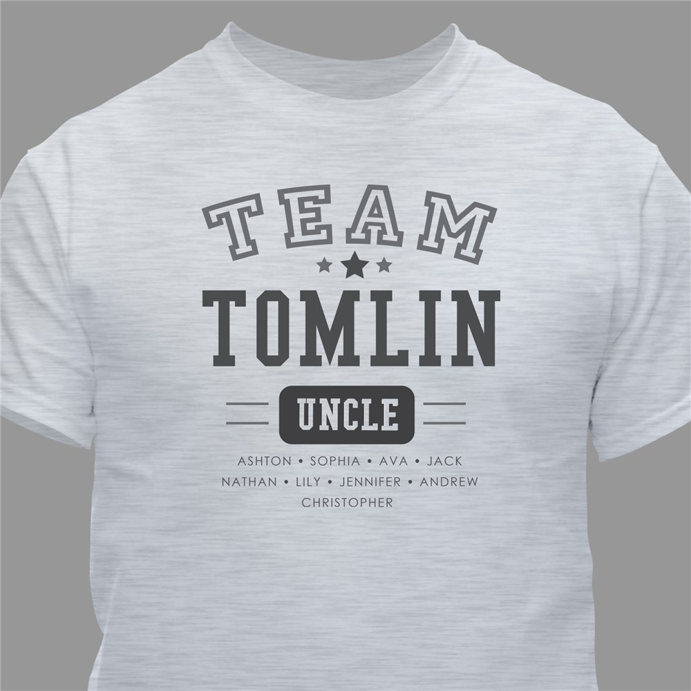 Personalized Team T-Shirt