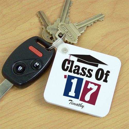 Personalized Class Of Graduation Key Chain | Graduate Gifts