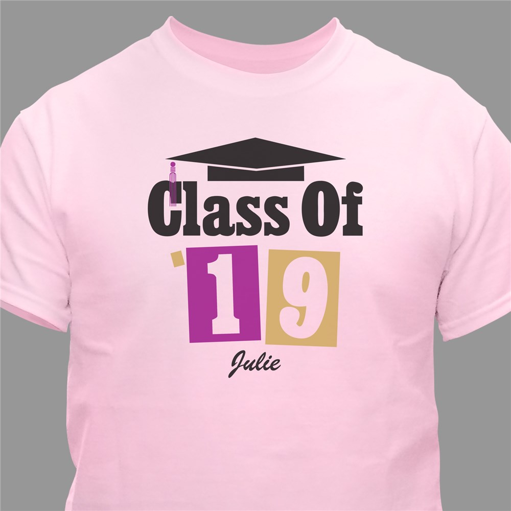 Personalized Graduation T-Shirt | Graduation Shirts