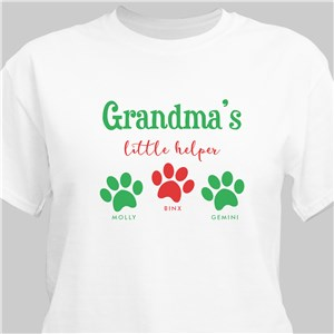 Personalized Little Helpers T-Shirt