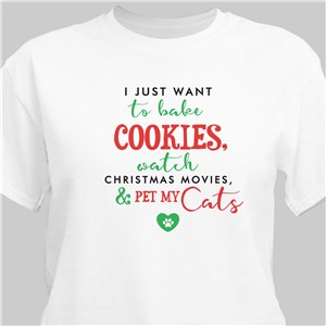 Personalized Bake Cookies T-Shirt