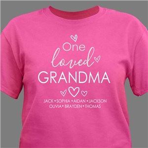 Personalized Loved T-Shirt
