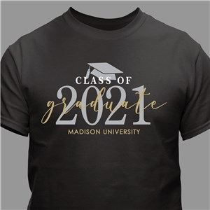 Personalized Class of Graduate T-Shirt