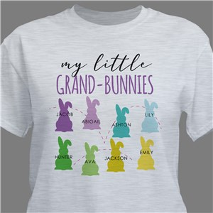 Personalized My Little Grand-Bunnies T-Shirt