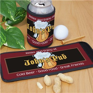 Personalized Cold Beer Pub Can Wrap  318089