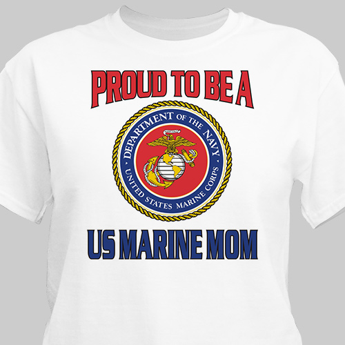 Proud To Be A... Personalized Military T-shirt | Personalized T-shirts