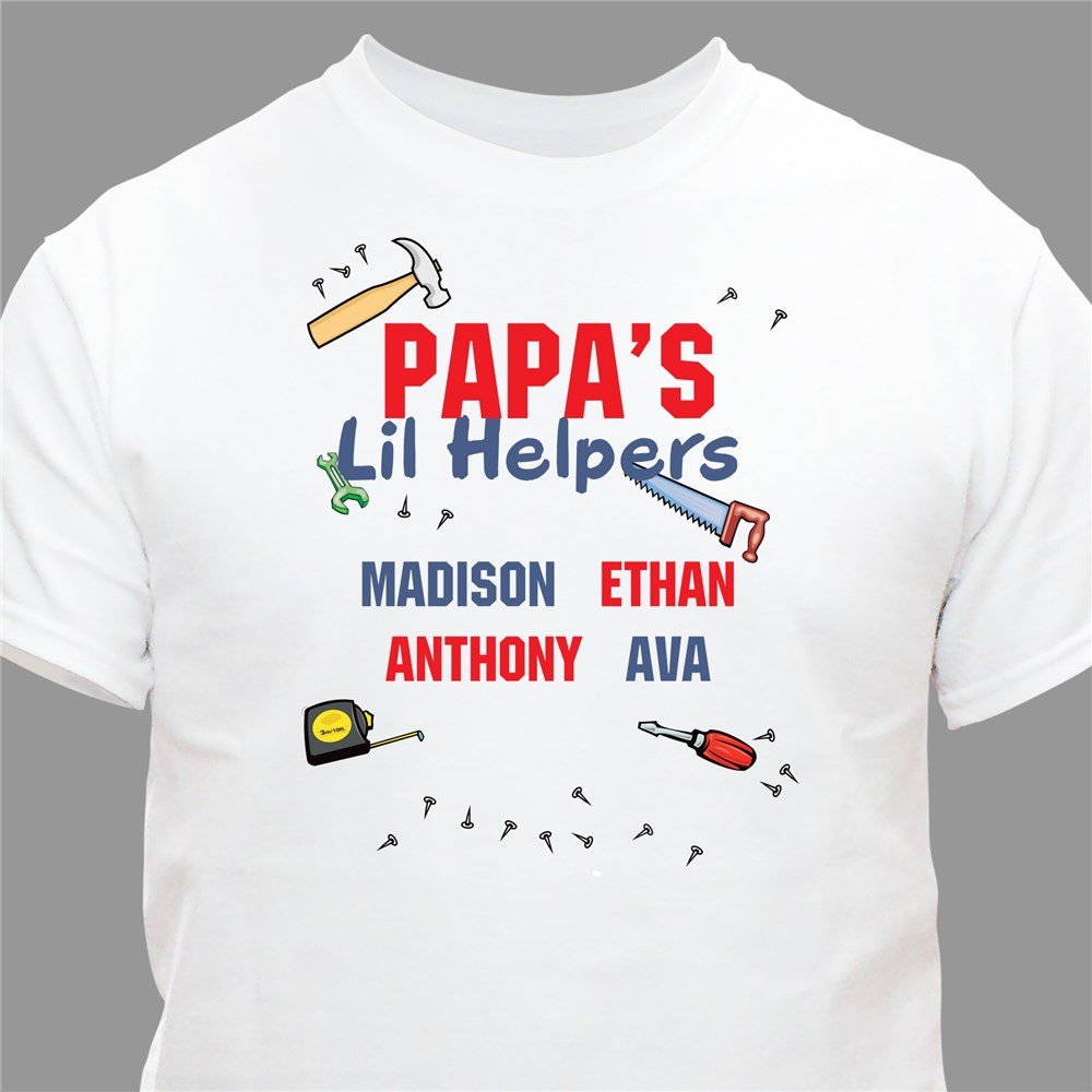 Lil' Helpers T-Shirt | Personalized T-shirts