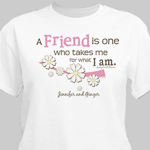 Friendship T-Shirt | Personalized T-shirts