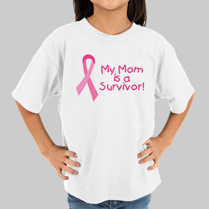 Survivor  - Breast Cancer Awareness Personalized Youth T-shirt