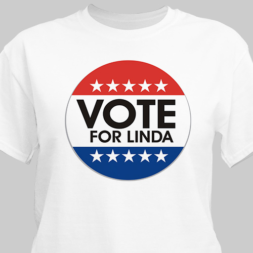 Vote Personalized T-Shirt | Personalized T-shirts