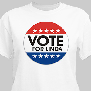 Vote Personalized T-Shirt