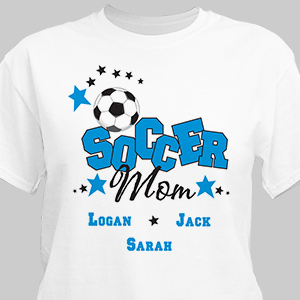 Soccer Personalized T-Shirt | Personalized T-shirts