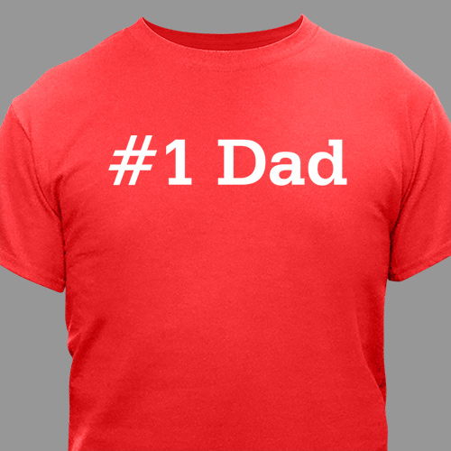 Personalized Fathers Day T-shirt | Personalized T-shirts