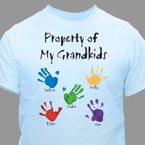 Property Of Personalized T-shirt | Personalized Grandma Shirts