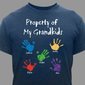 Property Of Personalized T-shirt