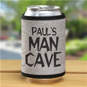 Personalized Man Cave Can Wrap | Mancave Gifts