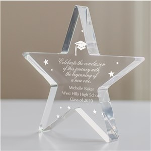 Personalized Graduation Star Keepsake | Graduation Gifts