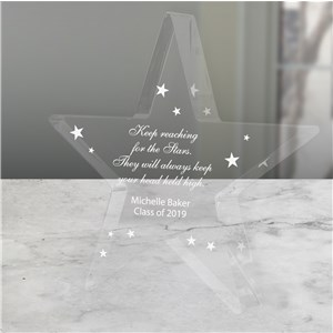 Personalized Graduation Star Keepsake | Personalized Graduation Gifts