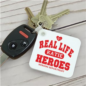 Real Life Heroes -  Nurse Key Chain
