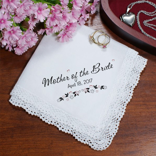 Wedding Personalized Wedding Ladies Handkerchief