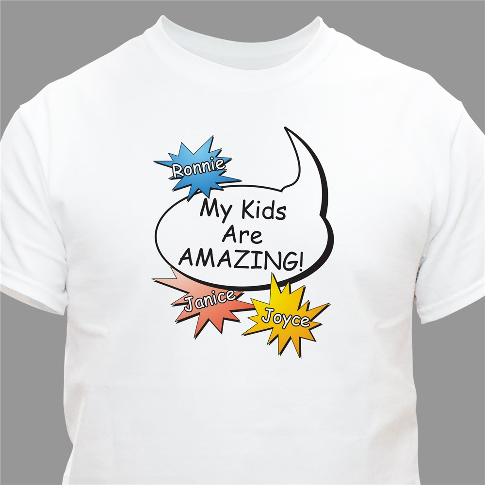 Personalized Amazing Kids T-shirt | Personalized T-shirts