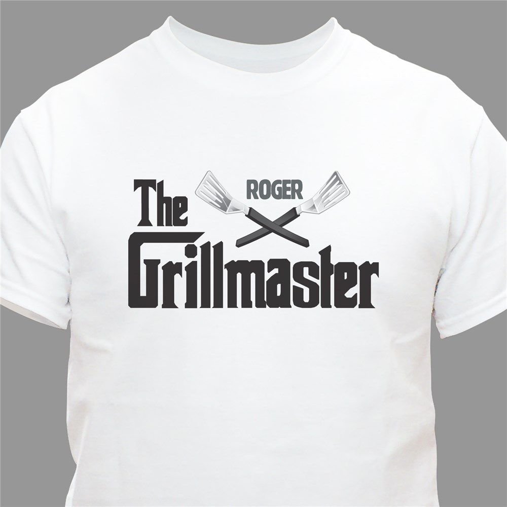 Personalized Grillmaster T-Shirt | Dad Shirt
