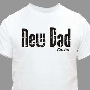 Personalized Fathers Day T-Shirt