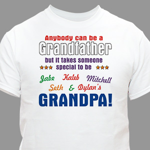 Personalized Grandfather Shirt