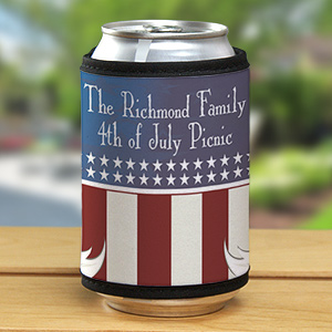 Custom Printed Can Wrap Koozies