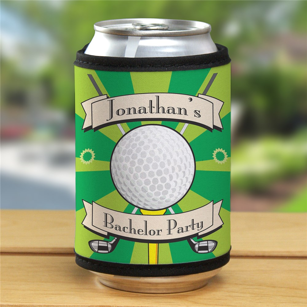 Custom Printed Golf Can Wrap