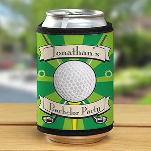 Custom Printed Golf Can Wrap Koozies