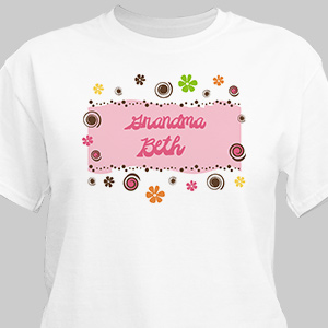 Personalized Custom T-shirt | Personalized Grandma Shirts