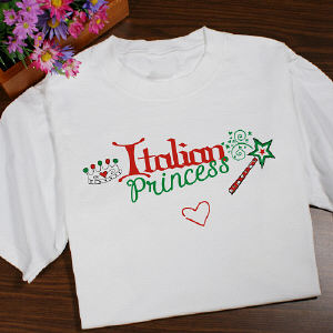 Italian Princess Youth T-shirt