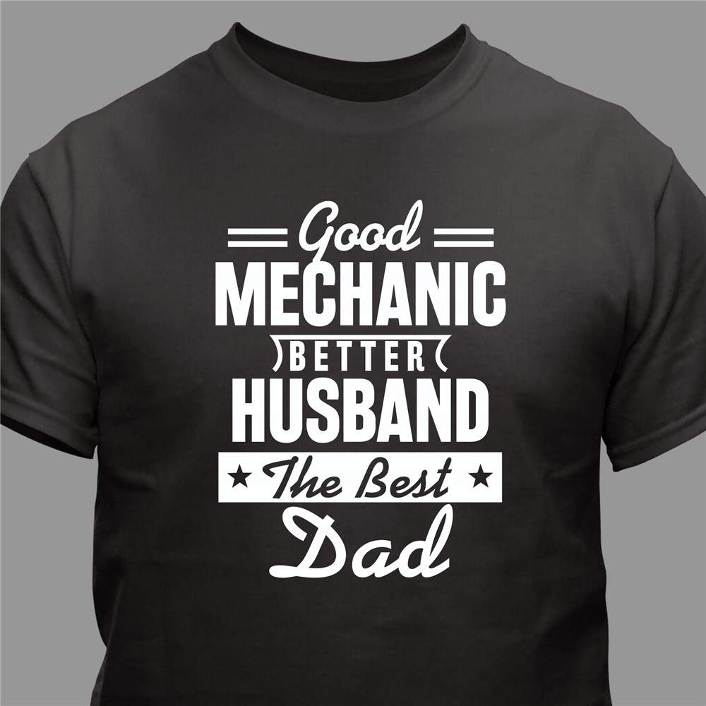 Personalized T-Shirt For Him | Great Shirts For Father's Day Gifts