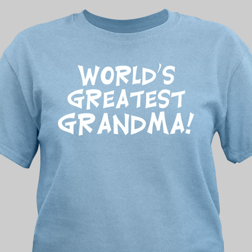 World's Greatest Personalized Adult T-Shirt | Personalized T-shirts