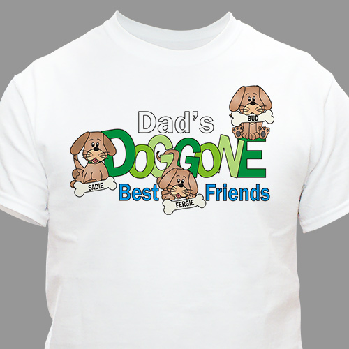 Dog Lover T-Shirt | Personalized T-shirts