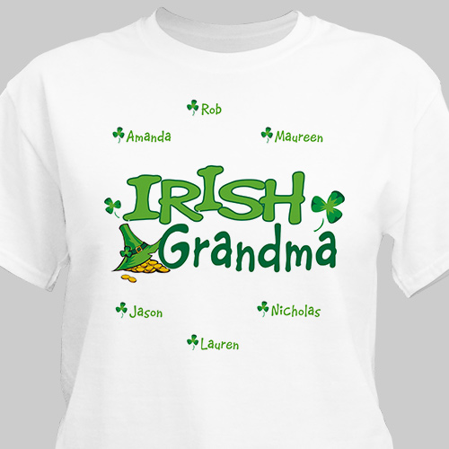 Irish Personalized T-Shirt
