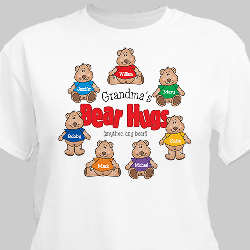 Bear Hugs Personalized T-Shirt | Mommy Shirts
